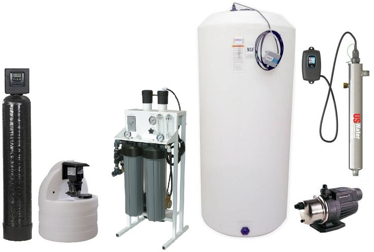 Does whole house reverse osmosis make sense? Basement
