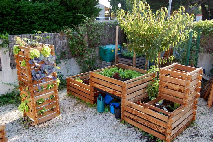 22 best images about culture du potager on pinterest - Carre potager terrasse ...