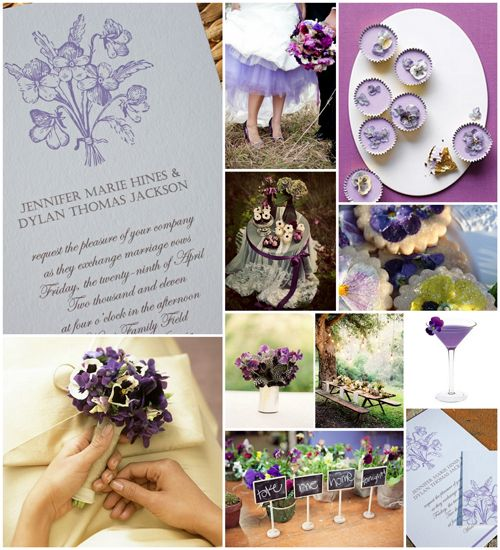 purple wedding ideas - links to the items can be found at www.bridesbirthdaysandbabies.blogspot.com or on the board Lovely Lavender Wedding Ideas