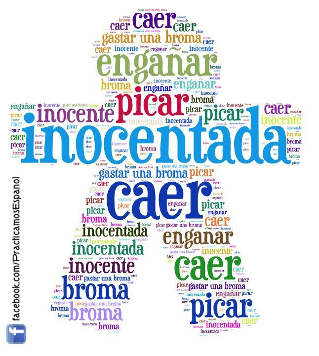 Vocabulario para el Día de los Inocentes...  :-)