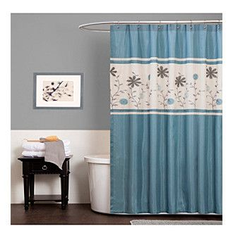 Shower Curtains christmas shower curtains walmart : 17 Best images about Shower Curtain on Pinterest | Jaclyn smith ...