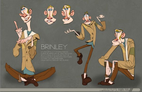 Character Design Portfolio Example : Best cartoon portfolio of other people images on