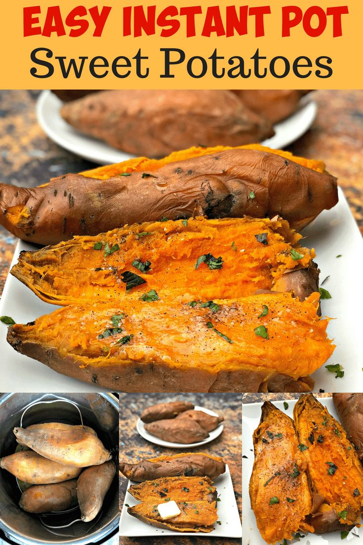 Easy Instant Pot Sweet Potatoes is a quick Whole 30 ...
