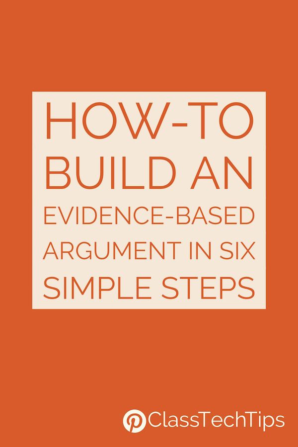 Evidence based arguments | Writing arguments | Writing lessons | Reading lessons | Middle School | High School | English Language Arts