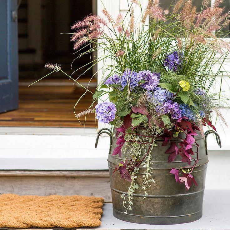 Best 25 Patio Planters Ideas On Pinterest: Best 25+ Garden Basket Ideas On Pinterest