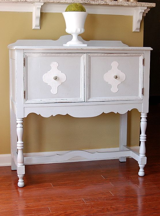 Two Tone Gray White Find This Pin And More On Painted Sideboards Buffet