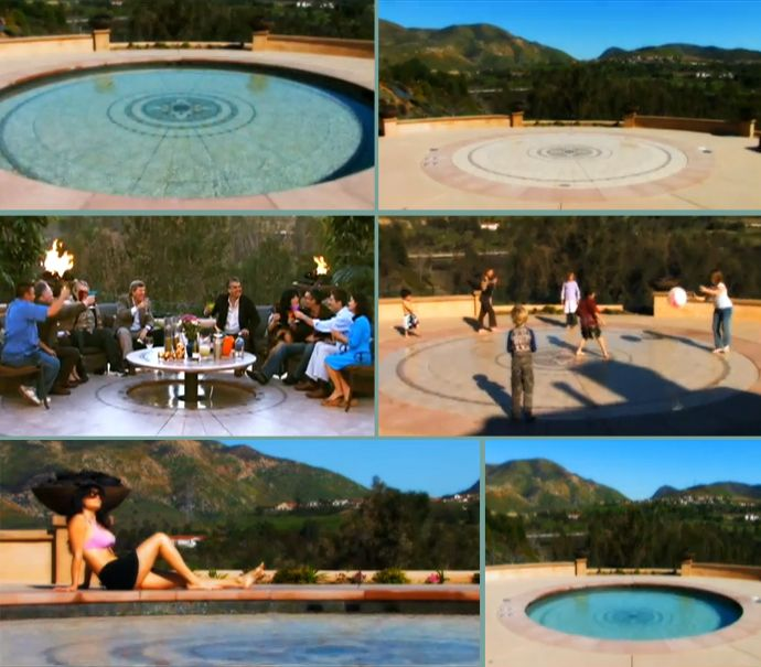 Hidden Water Pool: A Fantastic Swimming Pool that Converts to a Patio with a Button Touch! (video)