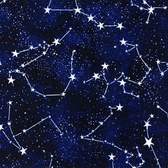 Constellations timeless treasures constellations glow in for Timeless treasures galaxy fabric