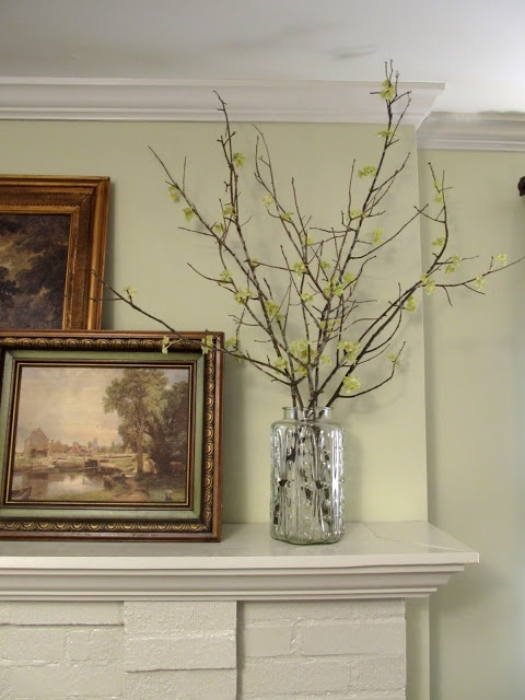 Decorating With (faux) Spring Twigs. Whole Foods Has Some Twigs If Not  Readily Found In Nature And Michaelu0027s Has Hydrangeas On Sale Right Now.