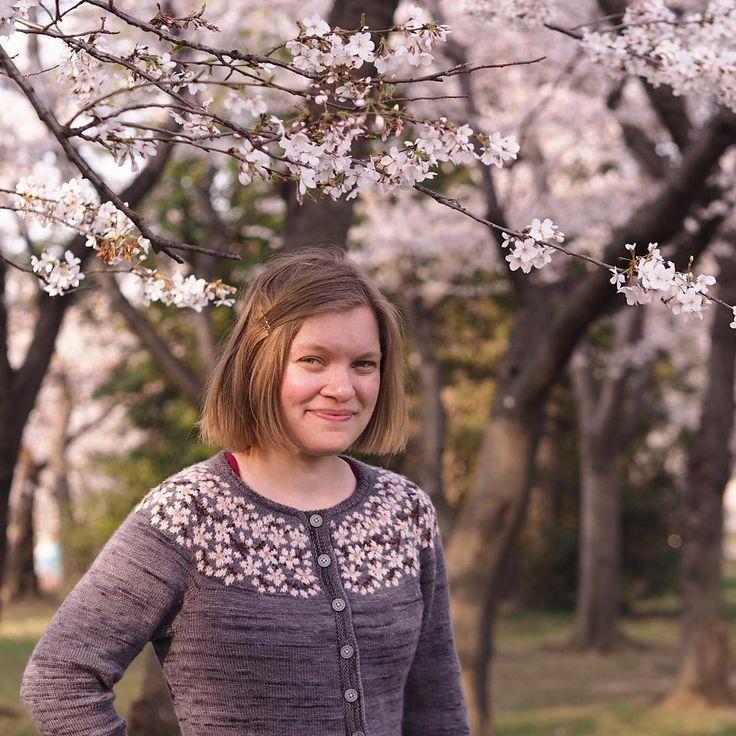 Ravelry: Kirsebærblomstring / Cherry Bloom / Kirschblüte by Lene Tøsti