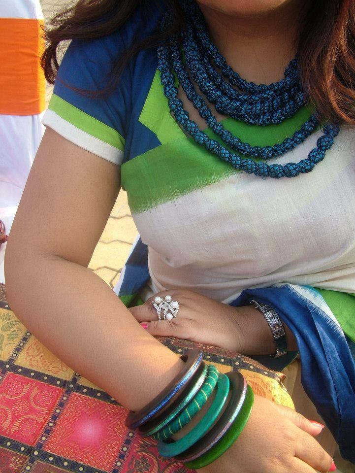Indian wear! #coloursof india #handloomsari