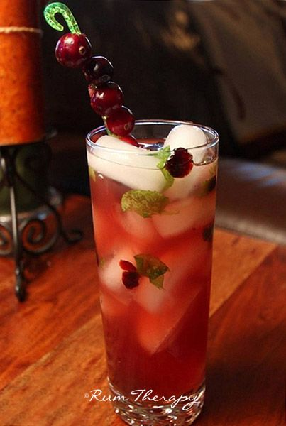 Cranberry-Mojito copyright Rum Therapy