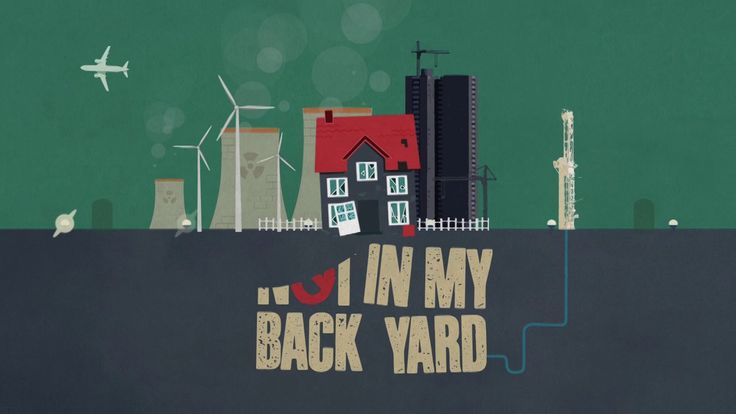 Not In My Back Yard. Titles idea for a TV show concept. We loved making this, but it never got used due to a title change. Doesn't mean it should be hidden away though!