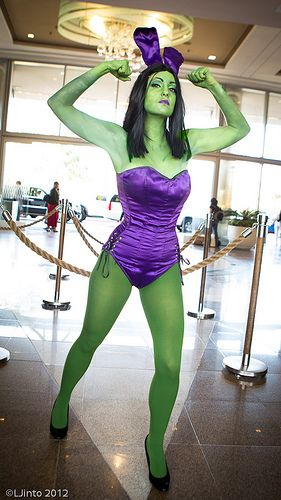 SDCC Avenger Bunnies 6 Costume Cosplay Hulk Costume