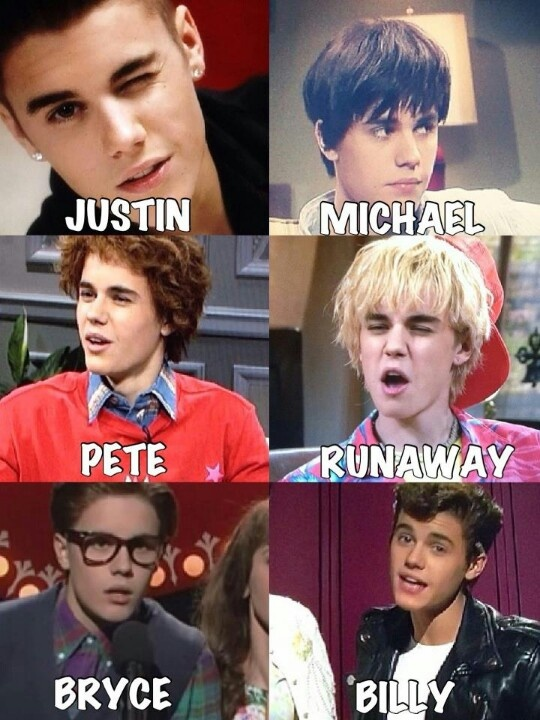 There are seven other people that look like Justin Bieber out there in the world... Well, we found 5!:)