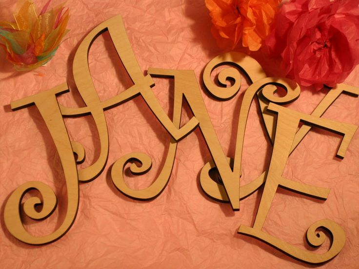 41 best images about shopping on pinterest for Wooden letters for crafts