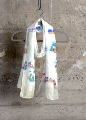 Cashmere Silk Scarf - Sea Fan by VIDA VIDA Buy Cheap Best Prices Discount Professional Wide Range Of Cheap Online Explore YVh8V