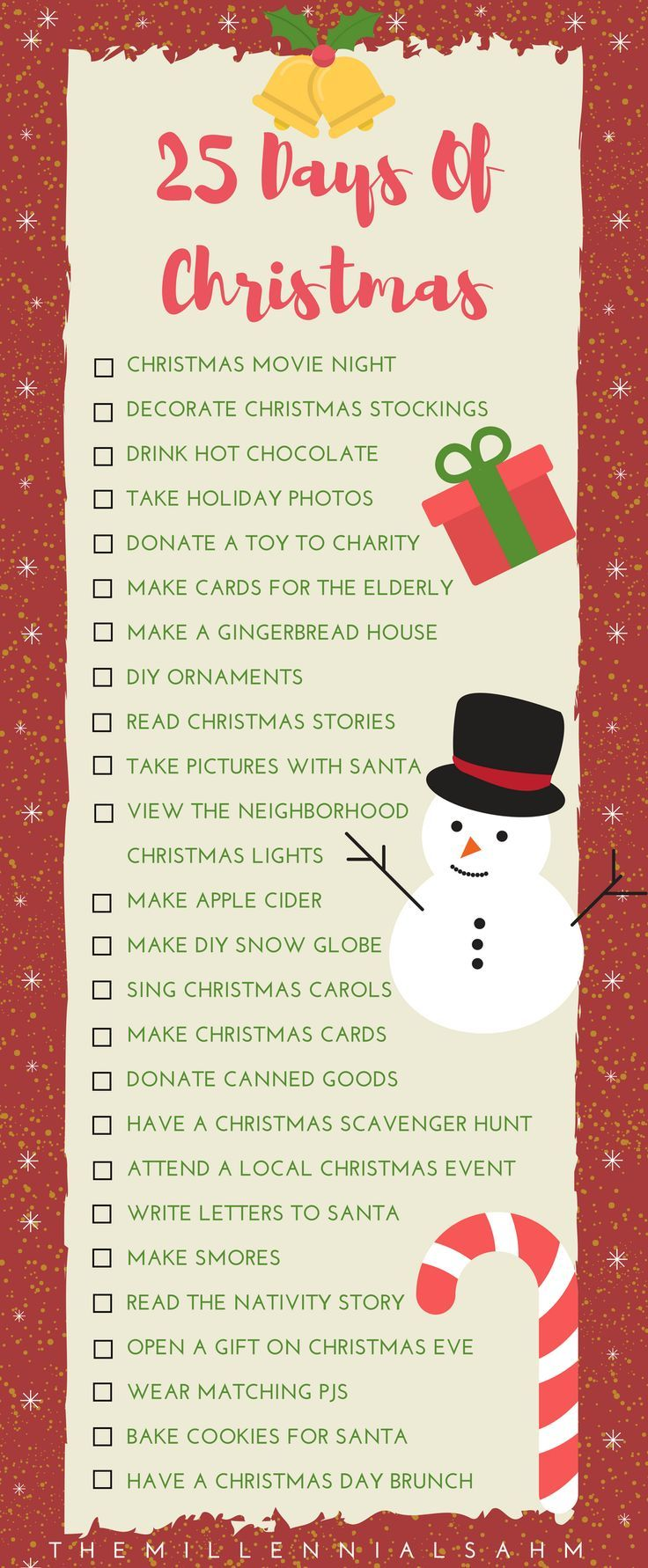 25 Days of Christmas - Holiday Traditions Your Family Will Love ...