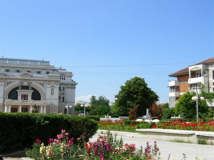 Orasul Focsani, Romania.