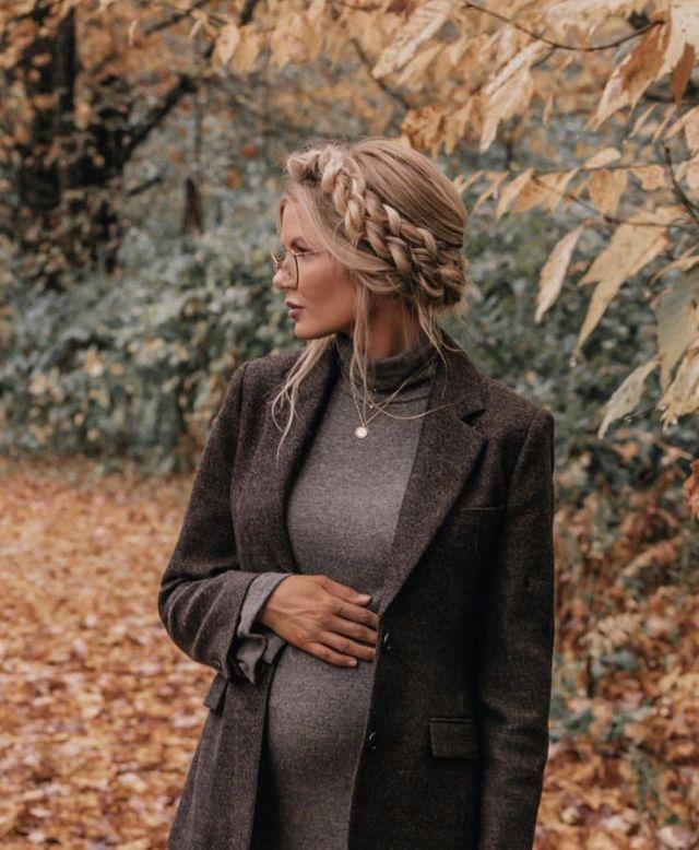 Pin Su Embarazadas Moda Invierno