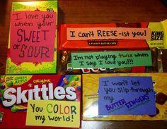 Cute boyfriend gift idea