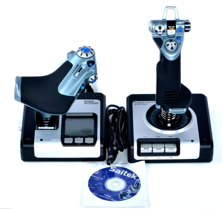 Saitek X52 Flight Stick for PC  ***Stick AND Throttle*** #Saitek