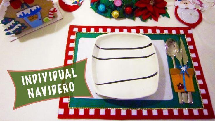 Individual Navideño: Ideas para Decorar tu mesa en esta Navidad