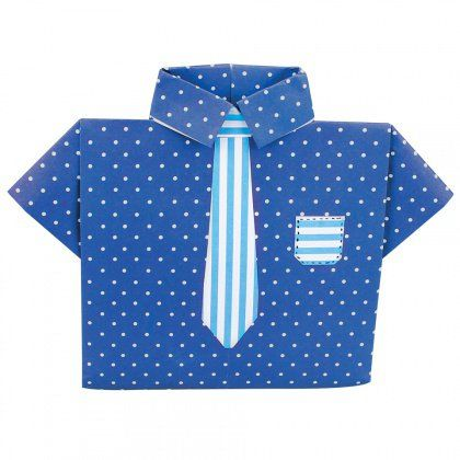 A fun Origami Shirt for Dad! - CleverPatch