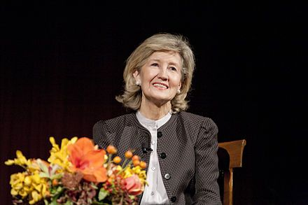 "Kay Bailey Hutchison - ""In Texas, we know BBQ means beef brisket""  ( this is one of those Texas things that is different than other southern states that mean pork when they talk BBQ)"