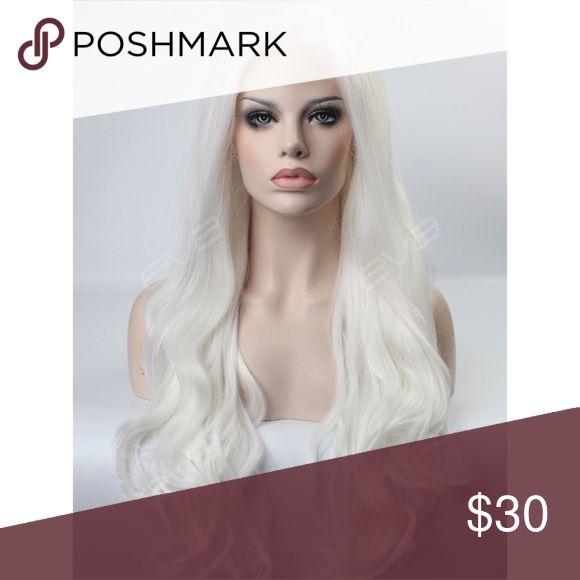 White Hair Wig Long hair! Similar to Ariana Grande Focus video hair! Other