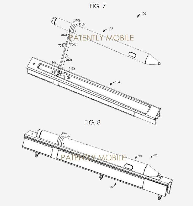 Microsoft podría patentar un Surface Pen recargable
