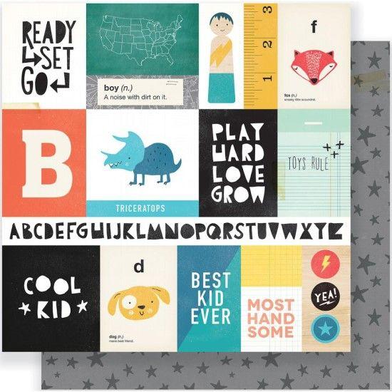 Crate Paper Cool Kid - Run & Jump paper