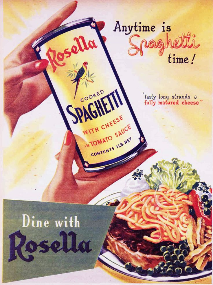 """Anytime is Spaghetti time! """"Tasty long strands and fully matured cheese"""" - Rosella cooked Spaghetti."""