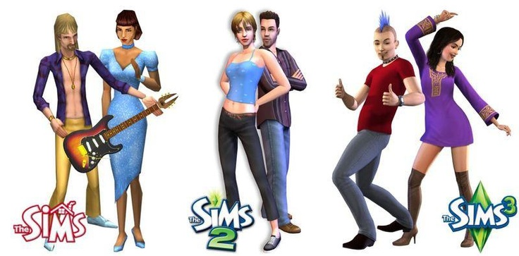 Sims Evolution | The Sims, TS1, TS2, TS3