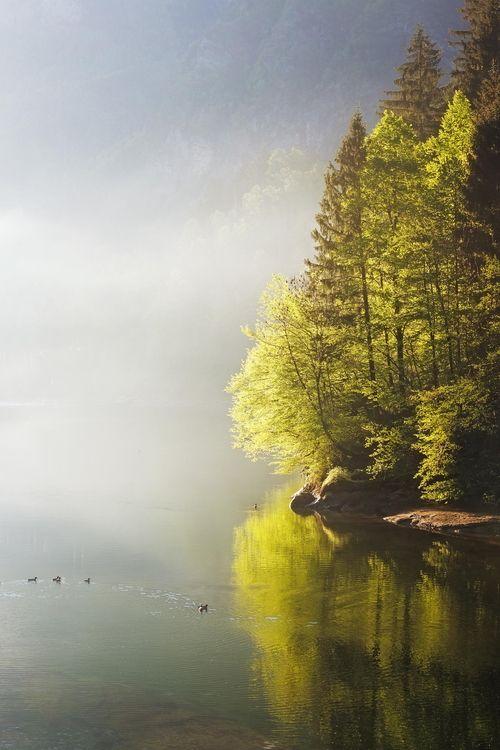 SEASONAL – Lake Fog, Bergamo, Italy photo by davide