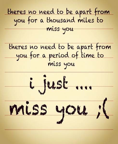 I Miss You Quotes Romance Missing You Quotes I Miss You Quotes
