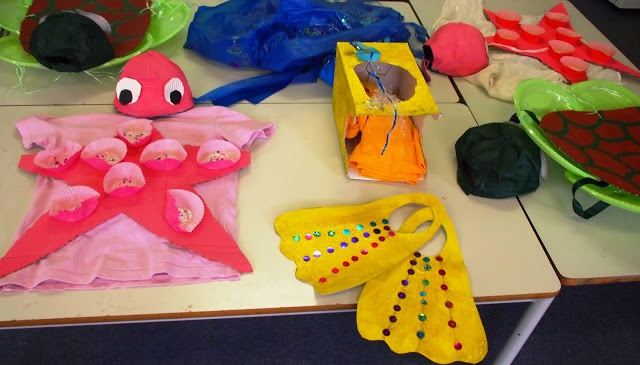 Under the Sea costumes.