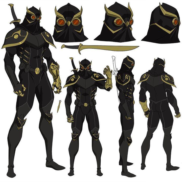 Talon from Batman Vs Robin, 2014. #Talon #batman #batmanvsrobin #villain #batmanroguesgallery #dccomics #dcentertainment #wbanimation #characterdesign
