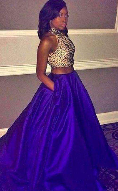 31 Black Girls Who Slayed Prom 2015  Beautiful Dresses
