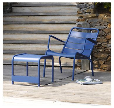 Fauteuil bas FERMOB Luxembourg - Jardin