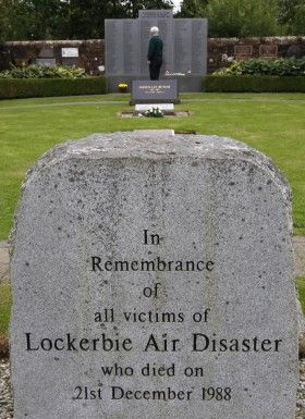 270 die as flight Pan Am 103 explodes over Lockerbie, Scotland