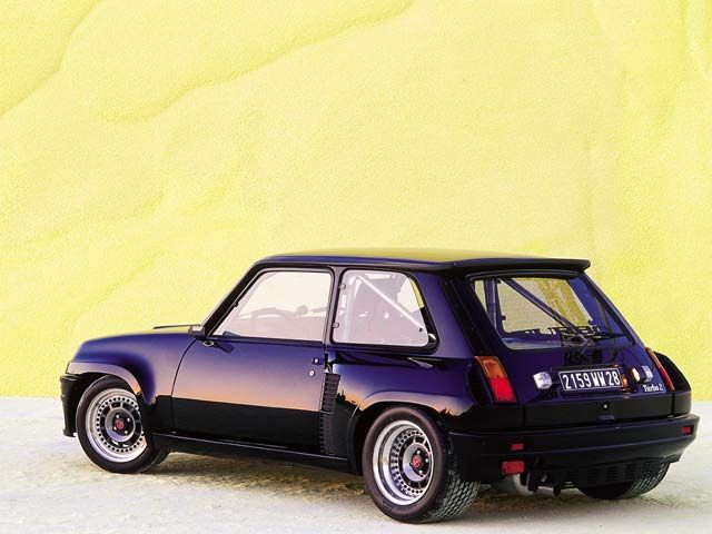Renault 5 Turbo I so wanted this car back in the day