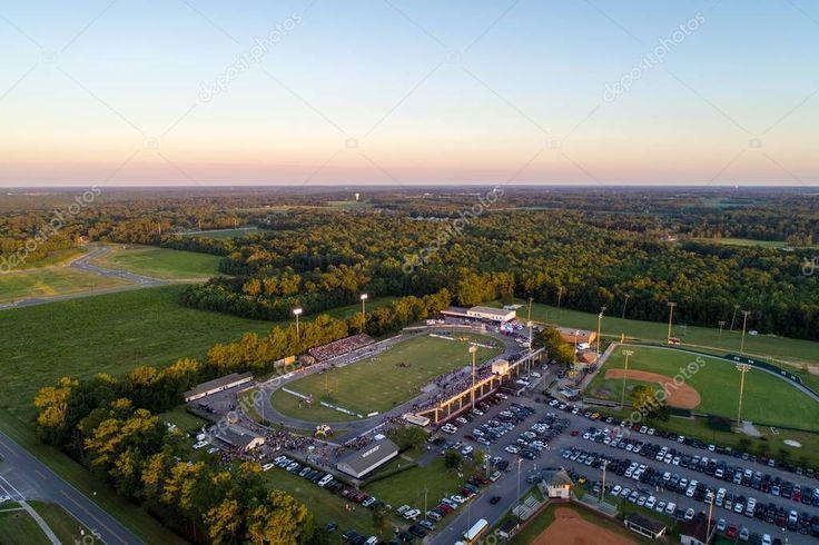 Aerial view high school football stadium daphne alabama