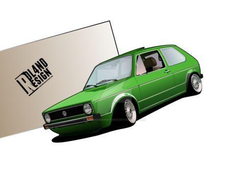 Volkswagen Golf Mk1 by ROL4NDesignStudio