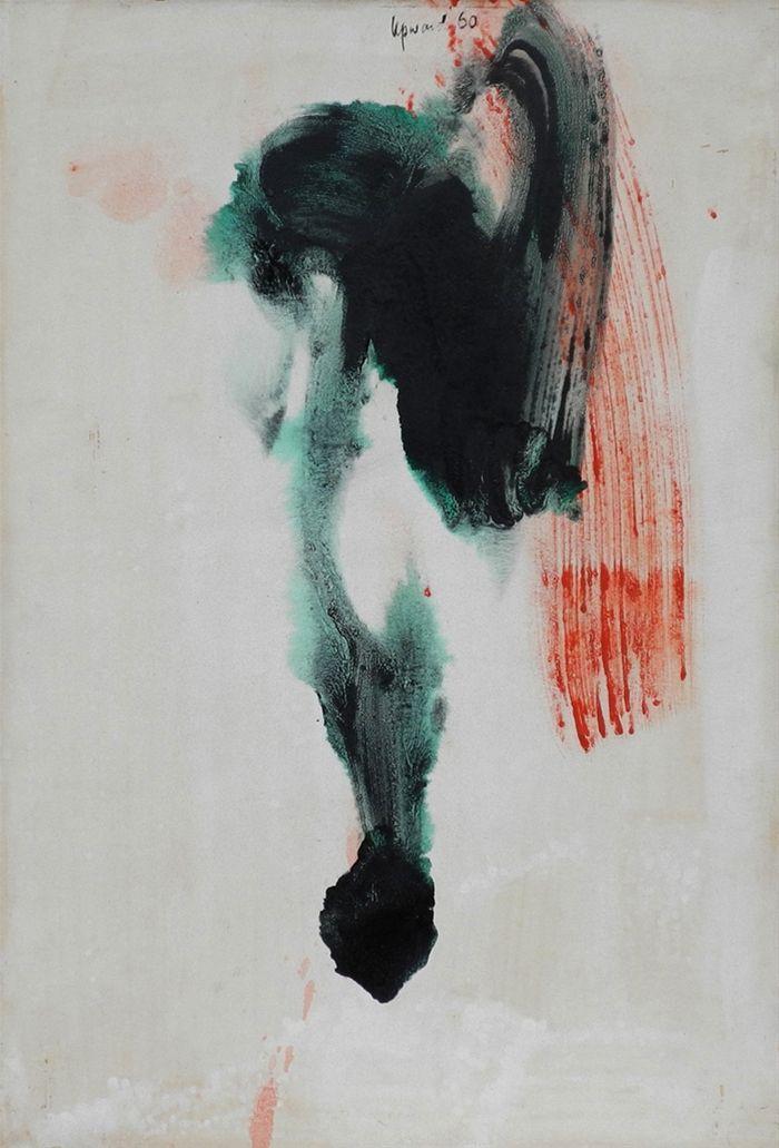 artwork Untitled by Peter Upward
