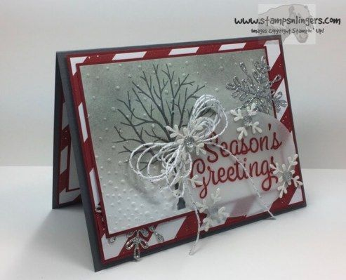 Stampin' Up! Snowflake Sentiments for Stamp Ink Paper #128 | Stamps – n - Lingers