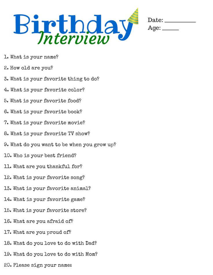 The 25+ best Birthday interview questions ideas on Pinterest - interview questions template