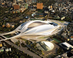 zaha hadid to design new national stadium japan