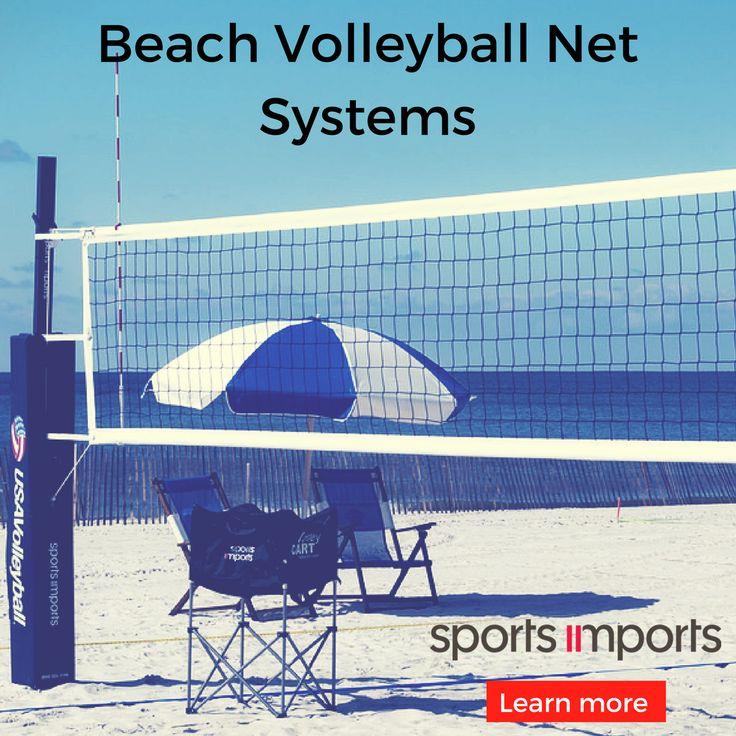 The best beach volleyball net systems for every level of play.