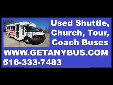 Used Bus: 2008 Chevrolet G3500 Express MFSAB Shuttle Bus | For more information call CHARLIE at 516-333-7483 OR visit us at http://www.getanybus.com